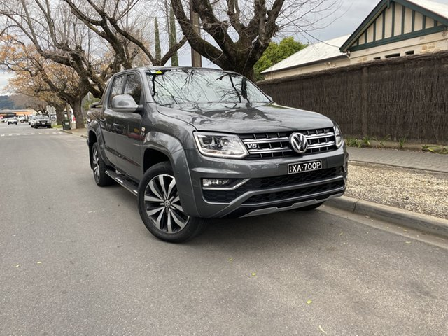 Used Volkswagen Amarok 2H MY19 TDI580 4MOTION Perm Ultimate Hawthorn, 2019 Volkswagen Amarok 2H MY19 TDI580 4MOTION Perm Ultimate Grey 8 Speed Automatic Utility