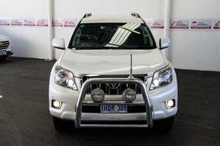 2013 Toyota Landcruiser Prado KDJ150R 11 Upgrade VX (4x4) Crystal Pearl 5 Speed Sequential Auto.