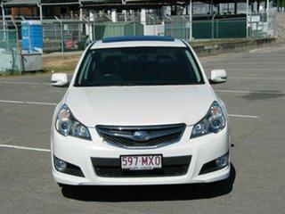 2010 Subaru Liberty MY10 2.5I Sports Premium (Sat) White Continuous Variable Sedan.