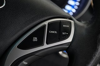2012 Hyundai Elantra MD Elite Blue 6 Speed Manual Sedan