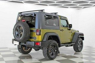 2008 Jeep Wrangler JK Sport (4x4) Green 6 Speed Manual Softtop