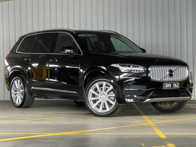 Used Volvo XC90 L Series MY17 D5 Geartronic AWD Inscription Moorabbin, 2017 Volvo XC90 L Series MY17 D5 Geartronic AWD Inscription Black 8 Speed Sports Automatic Wagon