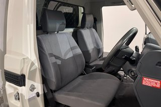 2014 Toyota Landcruiser VDJ79R MY13 GXL White 5 speed Manual Cab Chassis