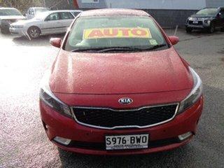 2018 Kia Cerato YD MY18 S Red 6 Speed Sports Automatic Sedan.