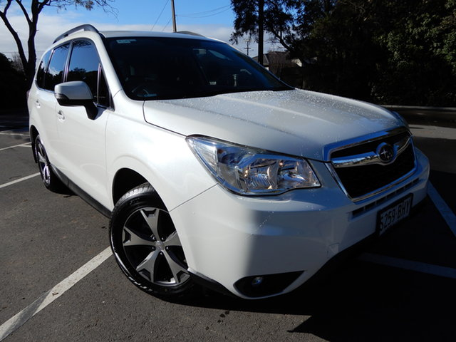 Used Subaru Forester S4 MY15 2.5i-L CVT AWD Special Edition Glenelg, 2015 Subaru Forester S4 MY15 2.5i-L CVT AWD Special Edition White 6 Speed Constant Variable Wagon