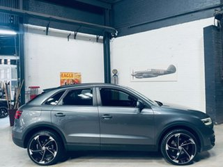 2012 Audi Q3 8U MY13 TFSI S Tronic Quattro Grey 7 Speed Sports Automatic Dual Clutch Wagon.