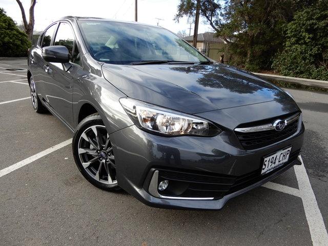 Used Subaru Impreza G5 MY19 2.0i-L CVT AWD Glenelg, 2018 Subaru Impreza G5 MY19 2.0i-L CVT AWD Dark Grey 7 Speed Constant Variable Hatchback