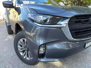 2021 Mazda BT-50 TFR40J XT 4x2 Grey 6 Speed Sports Automatic Cab Chassis