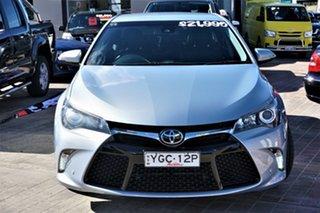 2015 Toyota Camry ASV50R Atara SL Blue 6 Speed Sports Automatic Sedan.
