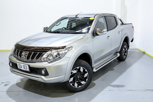 Used Mitsubishi Triton MQ MY17 Exceed Double Cab Canning Vale, 2017 Mitsubishi Triton MQ MY17 Exceed Double Cab Silver 5 Speed Sports Automatic Utility