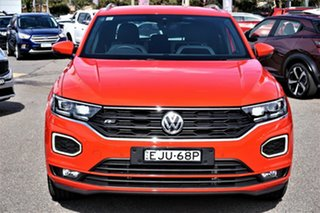 2020 Volkswagen T-ROC A1 MY20 140TSI DSG 4MOTION Sport Red 7 Speed Sports Automatic Dual Clutch.