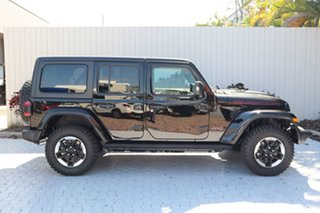 2021 Jeep Wrangler JL MY21 Unlimited Rubicon Gloss Black 8 Speed Automatic Hardtop.