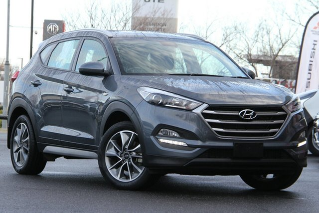 Used Hyundai Tucson TL MY18 Active X 2WD Essendon North, 2018 Hyundai Tucson TL MY18 Active X 2WD Grey 6 Speed Sports Automatic Wagon