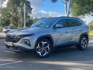2021 Hyundai Tucson NX4.V1 MY22 Highlander AWD Shimmering Silver 8 Speed Sports Automatic Wagon.