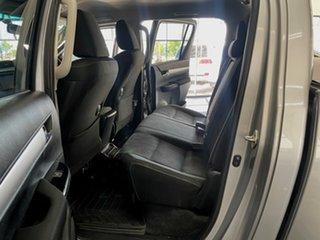 2016 Toyota Hilux GUN126R SR5 Double Cab Silver 6 Speed Manual Utility