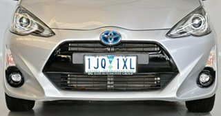 2017 Toyota Prius c NHP10R E-CVT Silver 1 Speed Constant Variable Hatchback Hybrid