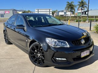 2016 Holden Commodore VF II MY16 SV6 Black Black/151216 6 Speed Sports Automatic Sedan.