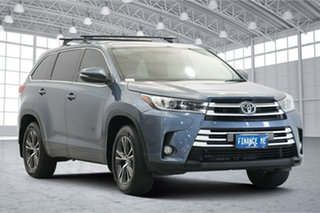 2017 Toyota Kluger GSU55R GX AWD Blue 8 Speed Sports Automatic Wagon.