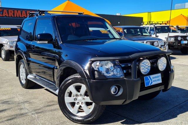 Used Mitsubishi Pajero NT MY09 R Morayfield, 2008 Mitsubishi Pajero NT MY09 R Black 5 Speed Sports Automatic Hardtop