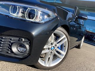 2016 BMW 125i F20 LCI MY18 M Sport Black Sapphire 8 Speed Automatic Hatchback.