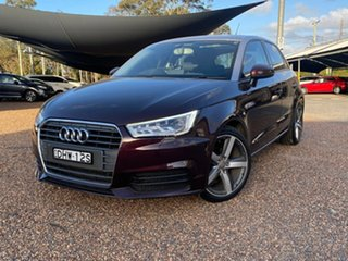 2016 Audi A1 8X MY16 Sportback S Tronic Red 7 Speed Sports Automatic Dual Clutch Hatchback.