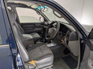 2001 Toyota Landcruiser FZJ105R GXL Blue 5 Speed Manual Wagon