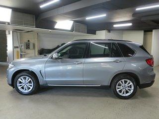 2014 BMW X5 F15 sDrive25d Grey 8 Speed Automatic Wagon