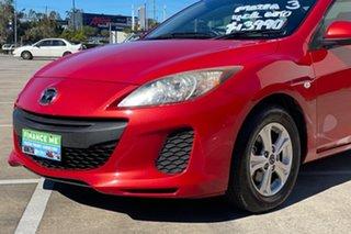 2013 Mazda 3 BL Series 2 MY13 Neo Red 5 Speed Automatic Sedan.