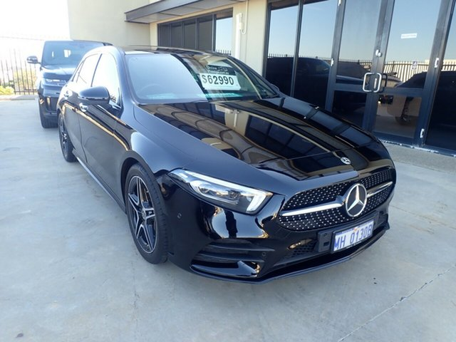 Used Mercedes-Benz A250 W177 MY20.5 4Matic Wangara, 2019 Mercedes-Benz A250 W177 MY20.5 4Matic Black Diamond 7 Speed Auto Dual Clutch Hatchback