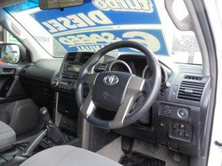 2012 Toyota Landcruiser Prado KDJ150R GX White 6 Speed Manual Wagon