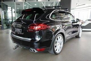 2012 Porsche Cayenne 92A MY13 Turbo Tiptronic Black 8 Speed Sports Automatic Wagon