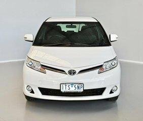2016 Toyota Tarago ACR50R GLi White 7 Speed Constant Variable Wagon.