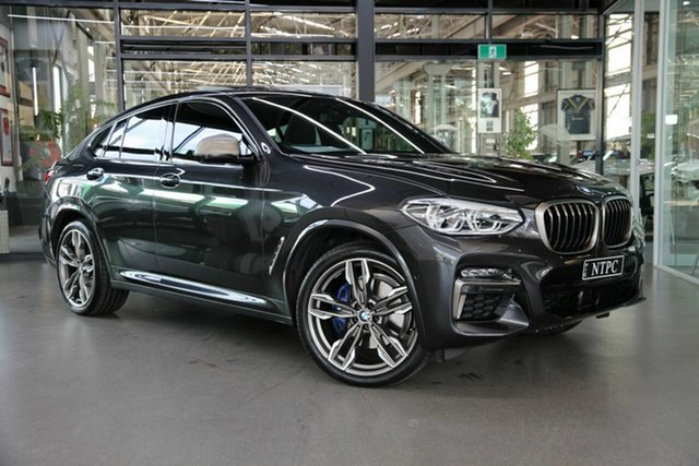 Used BMW X4 G02 M40i Coupe Steptronic North Melbourne, 2020 BMW X4 G02 M40i Coupe Steptronic Grey 8 Speed Sports Automatic Wagon