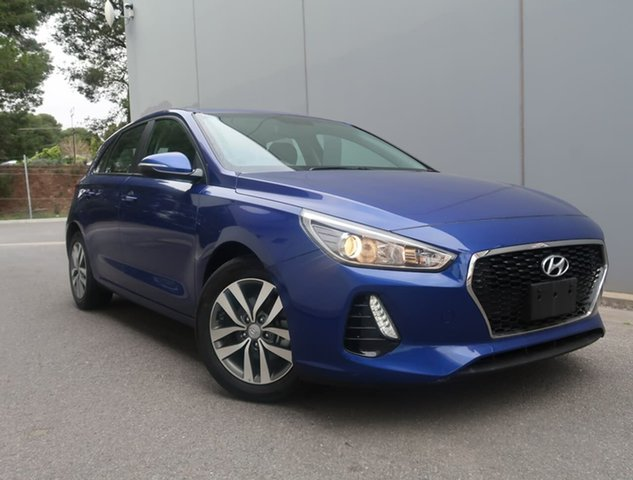 Used Hyundai i30 PD2 MY20 Active Reynella, 2019 Hyundai i30 PD2 MY20 Active Blue 6 Speed Sports Automatic Hatchback