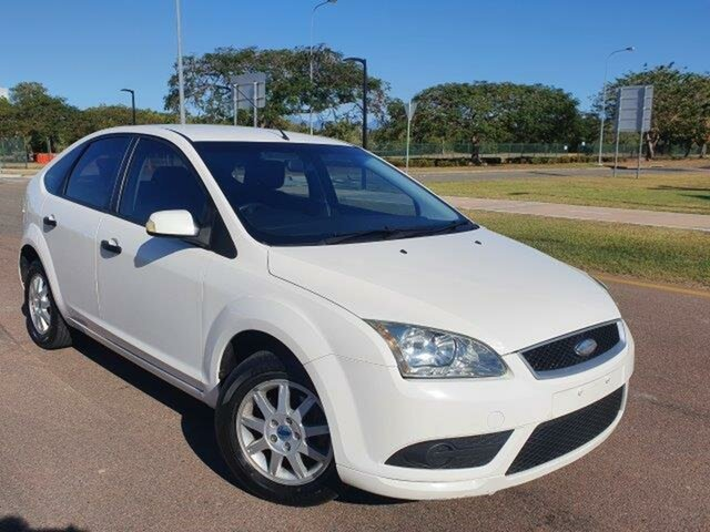 Used Ford Focus LT CL Townsville, 2008 Ford Focus LT CL White 4 Speed Sports Automatic Hatchback
