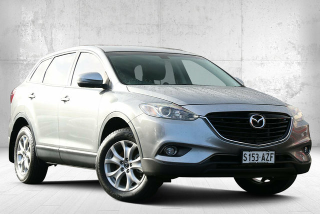 Used Mazda CX-9 TB10A5 Classic Activematic Valley View, 2013 Mazda CX-9 TB10A5 Classic Activematic Silver 6 Speed Sports Automatic Wagon
