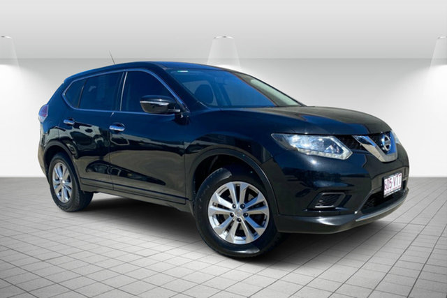 Used Nissan X-Trail T32 ST X-tronic 2WD Hervey Bay, 2015 Nissan X-Trail T32 ST X-tronic 2WD Black 7 Speed Constant Variable Wagon