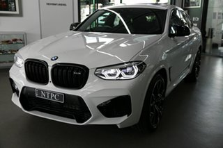 2019 BMW X4 M F98 Competition Coupe M Steptronic M xDrive White 8 Speed Sports Automatic Wagon