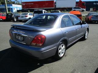2005 Nissan Pulsar N16 MY04 Q Grey 4 Speed Automatic Sedan.