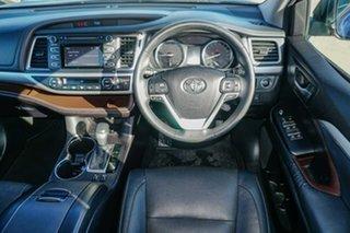 2015 Toyota Kluger GSU50R GXL 2WD Blue 6 Speed Sports Automatic Wagon