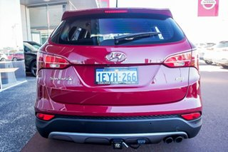 2013 Hyundai Santa Fe DM MY13 Active Red 6 Speed Sports Automatic Wagon
