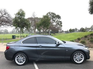 2016 BMW 2 Series F22 220i Luxury Line Grey 8 Speed Sports Automatic Coupe.