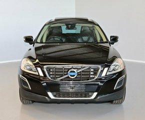 2011 Volvo XC60 DZ MY12 Teknik Geartronic AWD Black 6 Speed Sports Automatic Wagon.