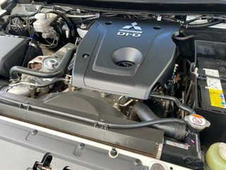 2018 Mitsubishi Triton MQ MY18 GLX Double Cab White Solid 5 Speed Sports Automatic Cab Chassis