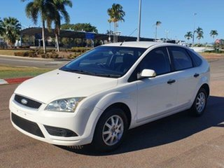 2008 Ford Focus LT CL White 4 Speed Sports Automatic Hatchback