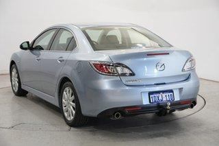 2010 Mazda 6 GH1051 MY09 Classic Blue 5 Speed Sports Automatic Sedan.
