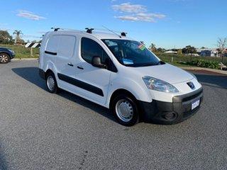 2012 Peugeot Partner B9P 1.6 HDi White 5 Speed Manual Van.