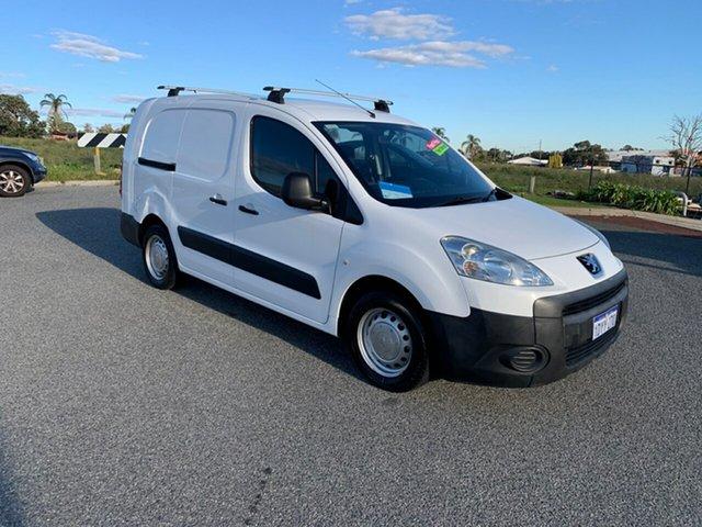 Used Peugeot Partner B9P 1.6 HDi Wangara, 2012 Peugeot Partner B9P 1.6 HDi White 5 Speed Manual Van
