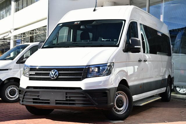 New Volkswagen Crafter SY1 MY21 35 High Roof LWB 4MOTION TDI410 Victoria Park, 2021 Volkswagen Crafter SY1 MY21 35 High Roof LWB 4MOTION TDI410 Candy White 8 Speed Automatic Van