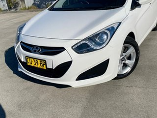 2011 Hyundai i40 VF Active Tourer White 6 Speed Sports Automatic Wagon.